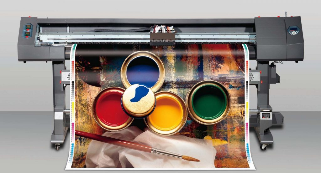 """""""Wide format printers are used to print banners, posters,.."""""""